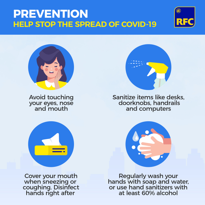 Prevention and awareness can help stop the spread of COVID-19