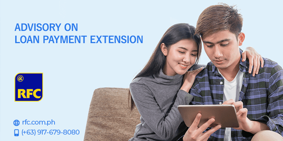 ADVISORY ON LOAN PAYMENT EXTENSION